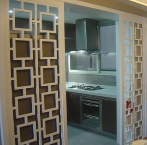 厨房门现代精装效果