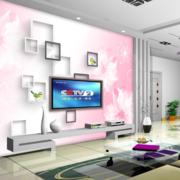 复式楼简约风格客厅电视墙饰装饰