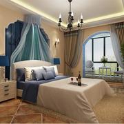 地中海卧室精致灯饰装饰