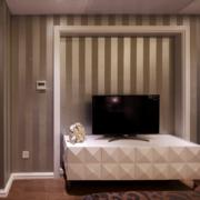 中式简约风格3D电视墙装饰