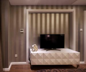 90平米后现代电视背景墙装修效果图
