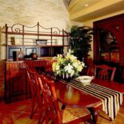 餐厅吊顶中式款