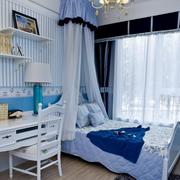 地中海儿童房飘窗装饰