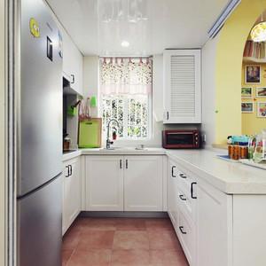 超美的淡雅小清新厨房装修设计效果图