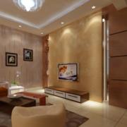 中式风格石制电视背景墙装饰