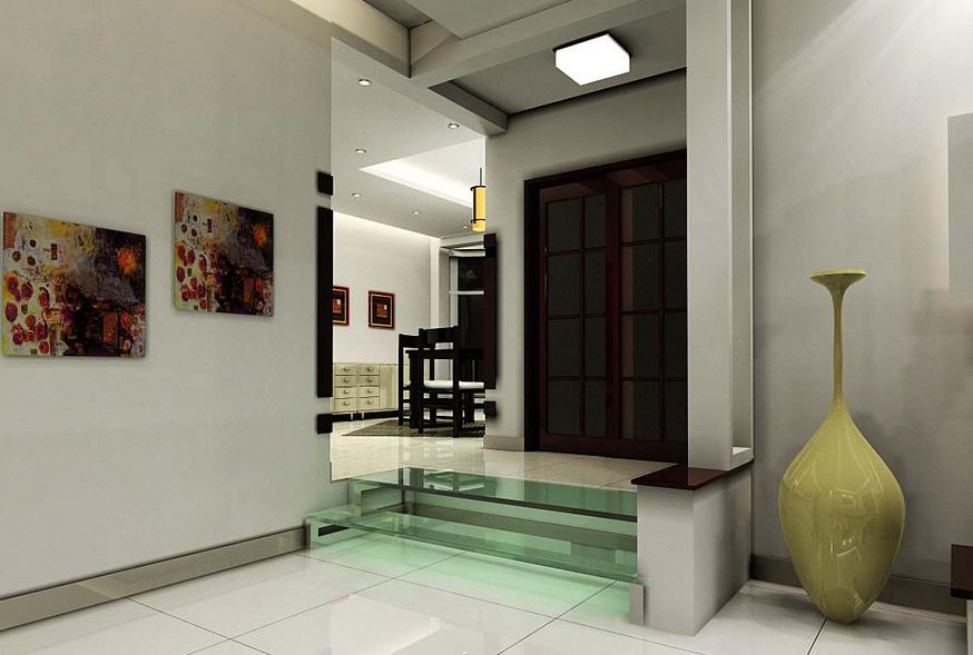 别墅 欧式 错层 客厅 电视背景墙 装修效果图 齐装