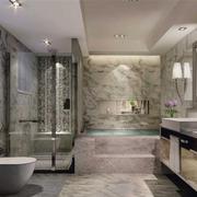 后现代风格奢华卫生间装饰