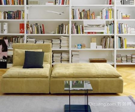 50平米小户型客厅懒人沙发装修效果图