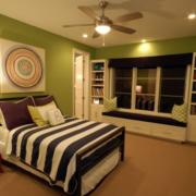 东南亚风格简约卧室窗帘装饰