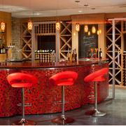 东南亚酒柜吧台装饰