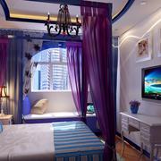 浪漫现代的卧室