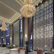欧式风格奢华饭店窗户装饰