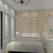欧式田园风格卧室背景墙装饰