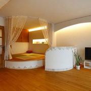 现代化清新风格卧室榻榻米装饰