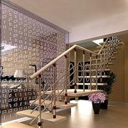 现代简约风格楼梯隔断装饰