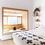 日式简约风格地台窗户装饰