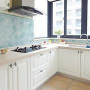 欧式简约风格厨房通气窗装饰
