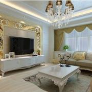 欧式风格客厅奢华茶几装饰