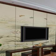 现代简约风格客厅墙饰装饰