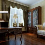 中式大户型典雅型客厅飘窗