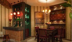 东南亚吧台装修设计效果图