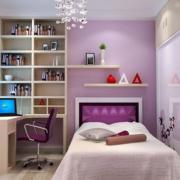 儿童房欧式淡淡紫色款