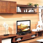美式简约深色电视柜设计