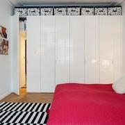 家居现代卧室隐形门