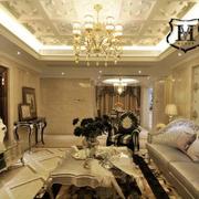 欧式豪华造型沙发图