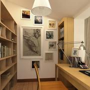 日式书房简约飘窗装饰