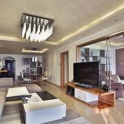 日式客厅简约风格吊顶装饰