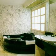 后现代风格卫生间浴缸装饰