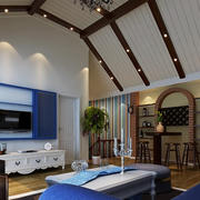 唯美的室内吊顶设计