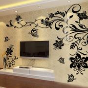 后现代风格印花墙贴装饰