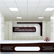 深色系企业创意形象墙装饰