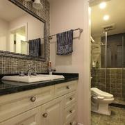 欧式风格简约卫生间浴室柜装饰