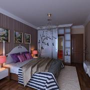 别墅欧式简约风格卧室装饰