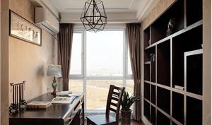 家居现代中式书架