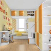 简约清新儿童房装饰设计