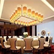 欧式简约风格饭馆包厢吊顶装饰