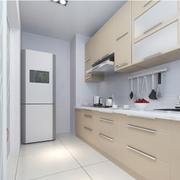 现代清新风格厨房悬挂橱柜装饰
