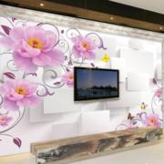 现代简约风格3D墙饰装饰
