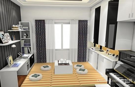 美观实用阳台卧室榻榻米装修效果图