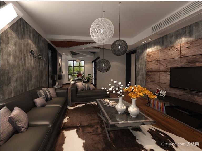 小户型loft客厅装修效果图