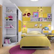 现代风格儿童房衣柜装饰