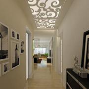 后现代风格别墅过道吊顶装饰