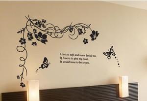 栩栩如生的小卧室立体墙贴装修效果图