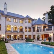 别墅游泳池淡蓝色款