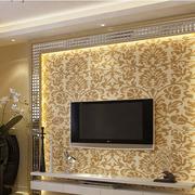 欧式奢华风格电视墙装饰