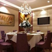 室内餐厅瓷砖北欧款